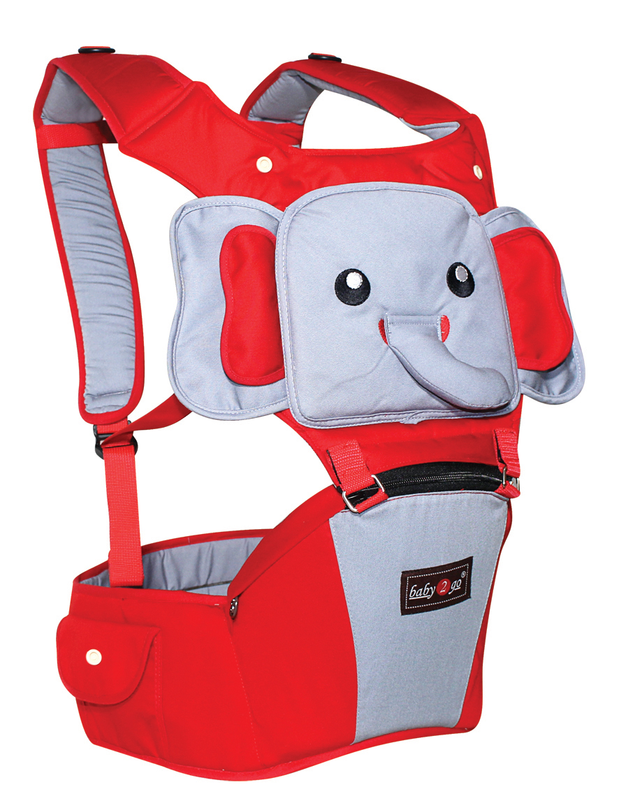 BABY SCOTS Gendongan Bayi Hipseat - Baby Carrier B2G1101-RED 6119bc50df