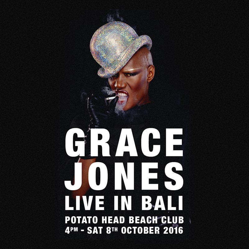 GRACE JONES - PRESALE