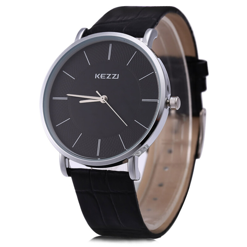 KEZZI K - 738G Men Quartz Watch Water Resistance Classic Round Dial Watchwrist