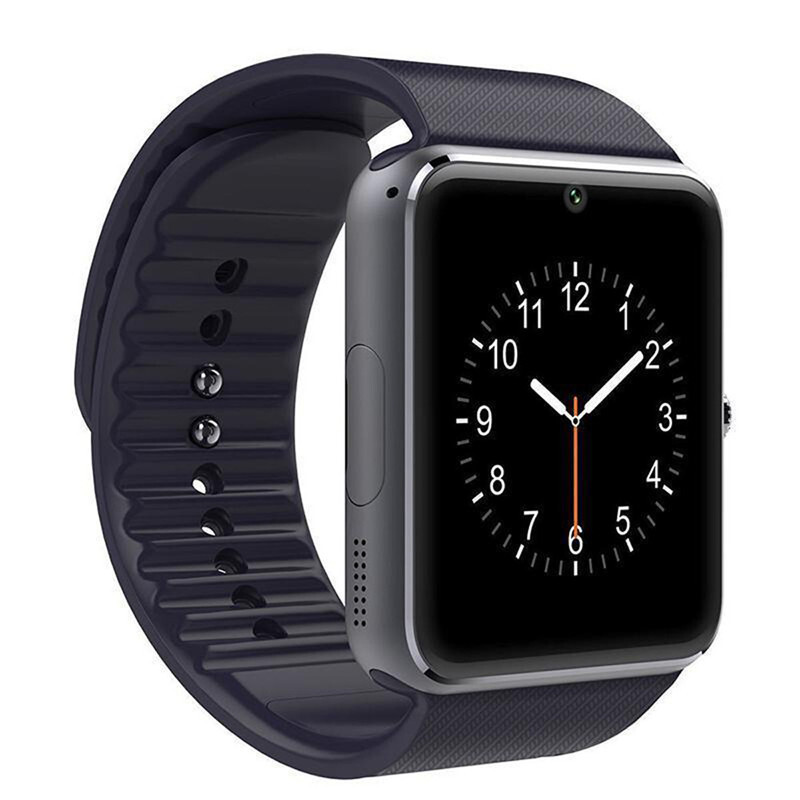 BESSKY GT08 Bluetooth Smart Watch NFC Wirst Phone Mate For iPhone For Samsung_ Black