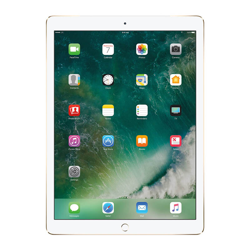 "APPLE New iPad Pro 12.9"" 2017 Model 4G WiFi + Cellular 512GB - Gold"