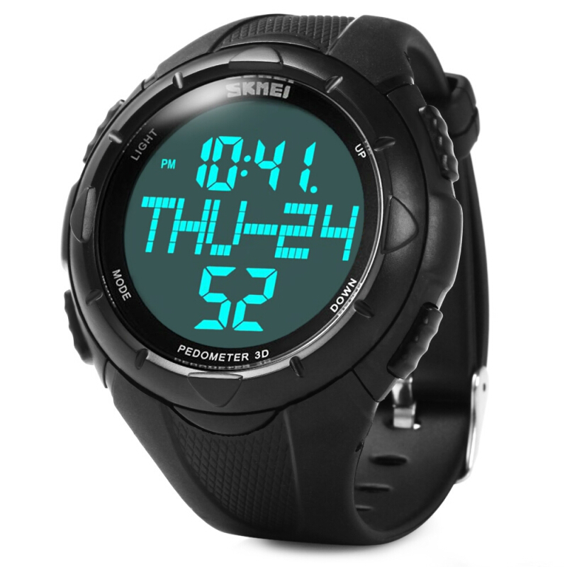 Skmei 1122 Male Water Resistant Digital Sports Watch