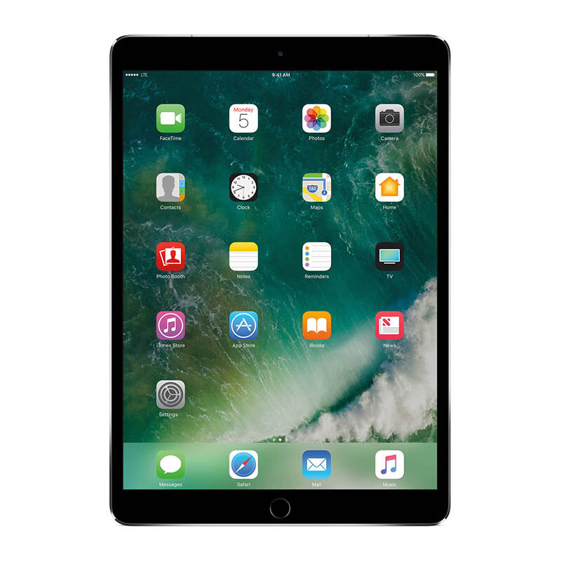 "APPLE NEW iPad Pro 10.5"" 2017 Model 4G WiFi + Cellular 512GB - Gray"