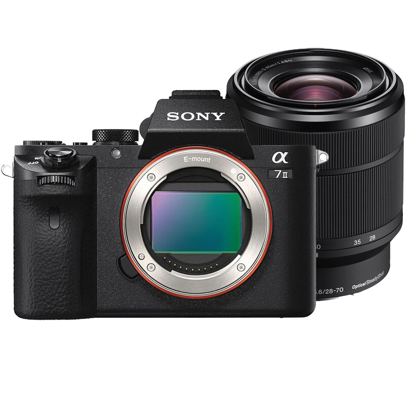 SONY Alpha a7 II with FE 28-70mm f/3.5-5.6 OSS - Black