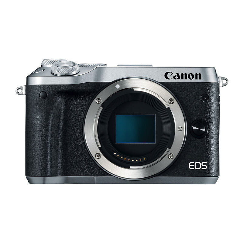 CANON EOS M6 Body Only - Silver