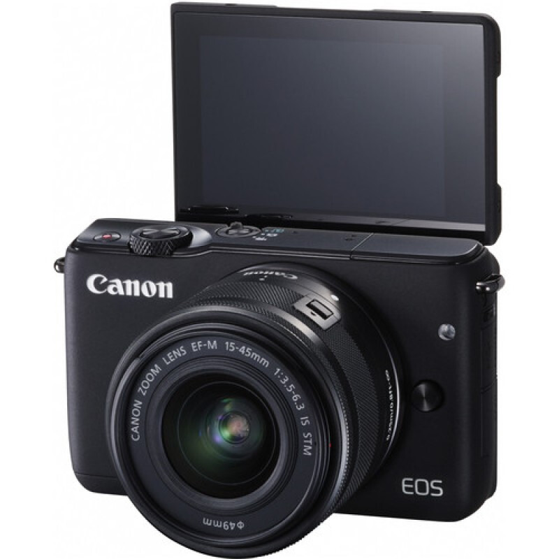 CANON EOS M10 Kit EF-M15-45mm - Black