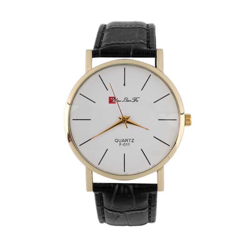 New Brand Hot Men's Fashionable Leather Retro Watch Leather Wristwatch
