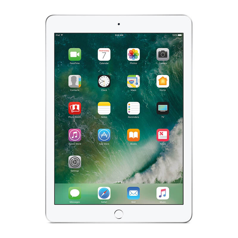 "APPLE NEW iPad 9.7"" 2017 Version WIFI 32GB - Silver"