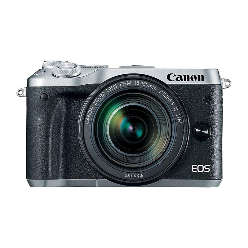CANON EOS M6 Kit EF-M18-150mm - Silver