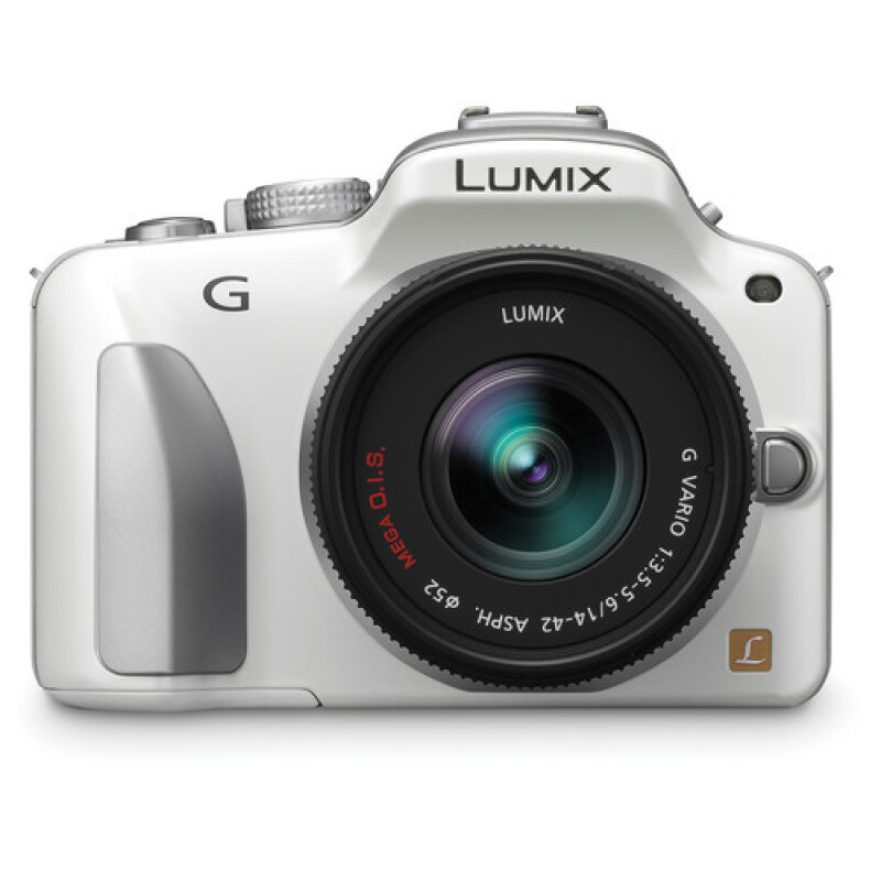 Panasonic Lumix G3KGC Kit 14-42mm White