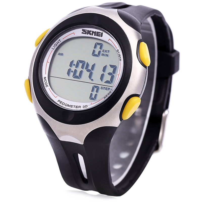 Skmei 1107 Waterproof LED Digital Analog Sports Watch Men Wristwatch with Date Time Calender