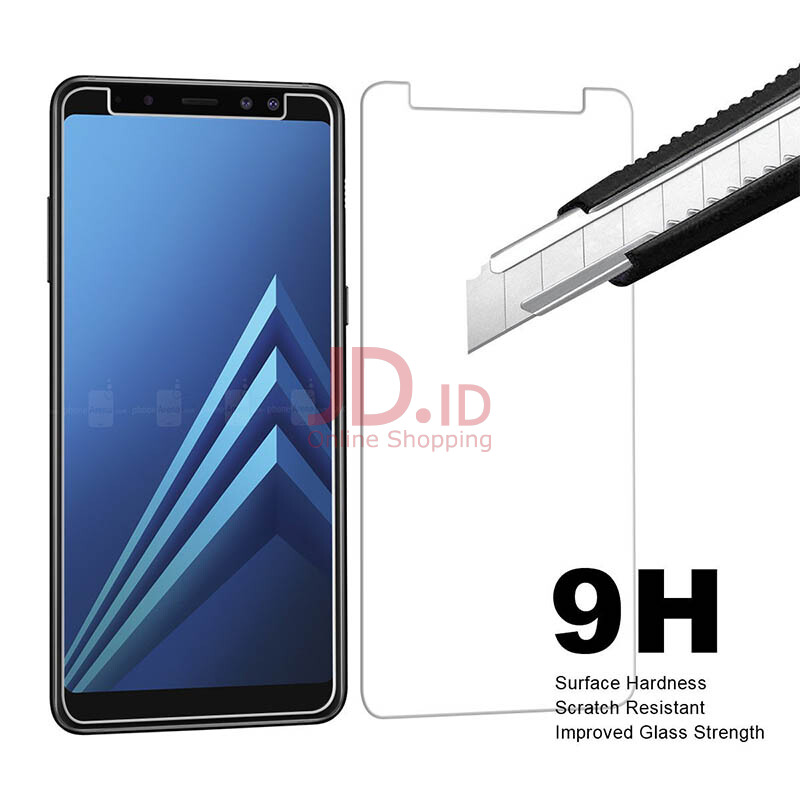 VEN Samsung Galaxy A8 2018 Tempered Glass screen protector TRANSPARENT